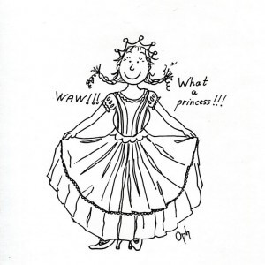 Belle Princesse Les Dessins D Oph